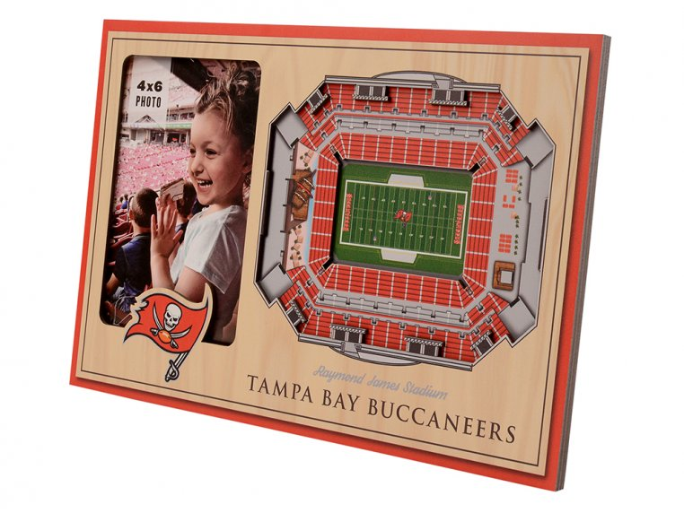 3D Stadium Picture Frame by StadiumViews - 66