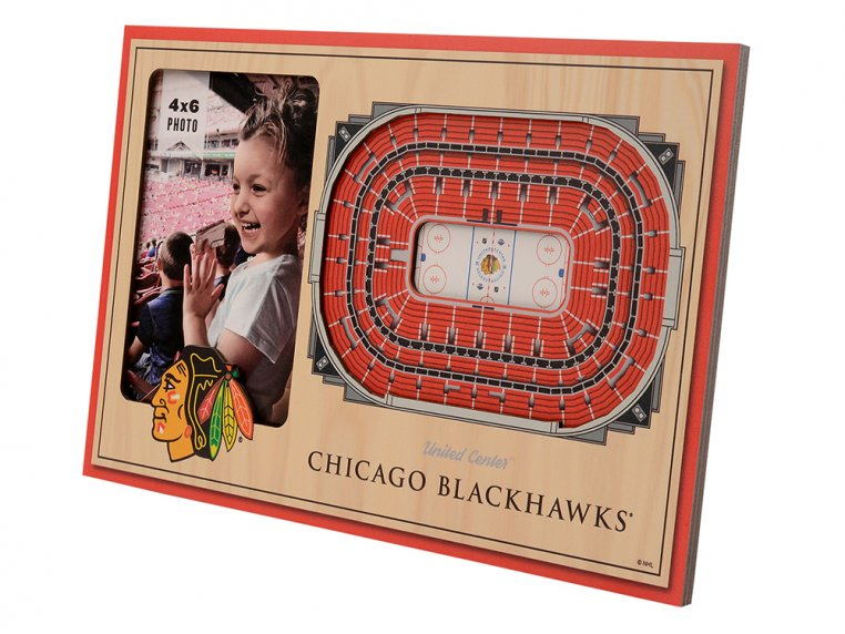3D Stadium Picture Frame by StadiumViews - 68