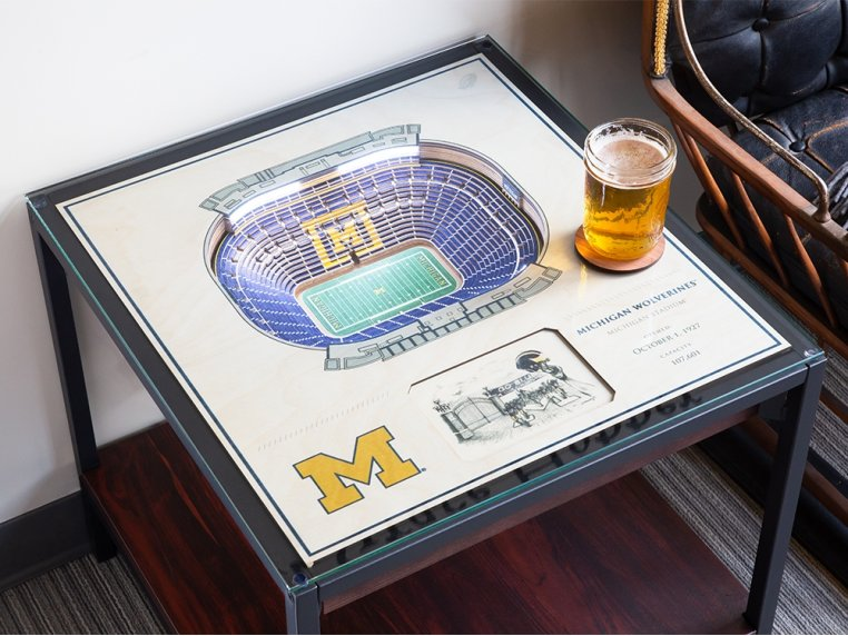 25-Layer Stadium Lighted End Table by StadiumViews - 2