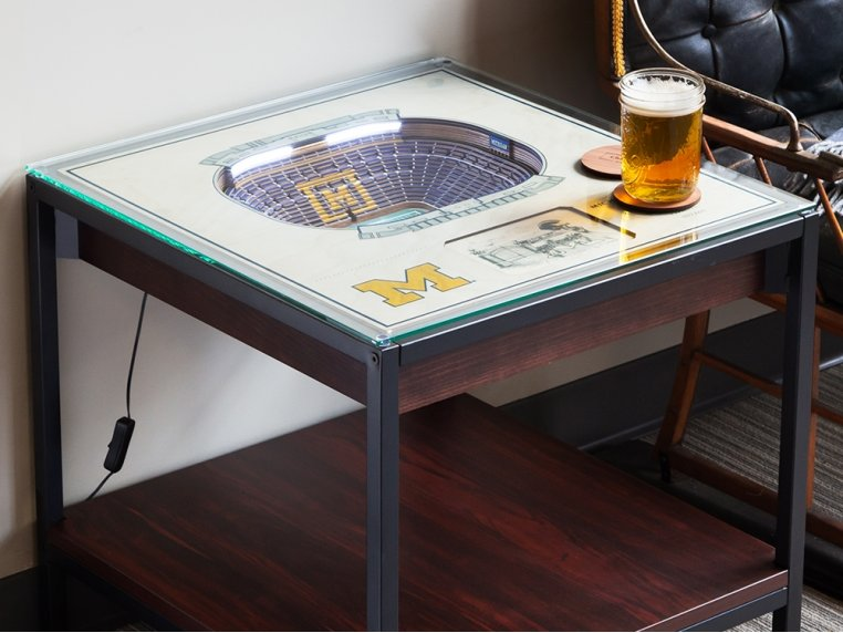 25-Layer Stadium Lighted End Table by StadiumViews - 1