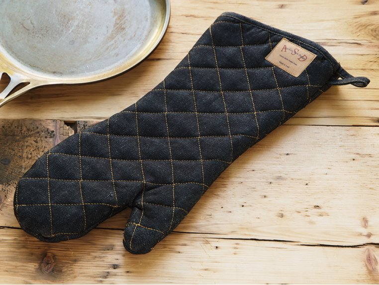 Denim Oven Mitt by Art Style Design Living - 2