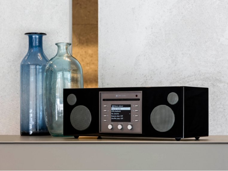 Wireless Hi-Fi Music System with CD Player by Como Audio - 2