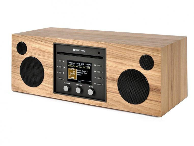 Wireless Hi-Fi Music System with CD Player by Como Audio - 3