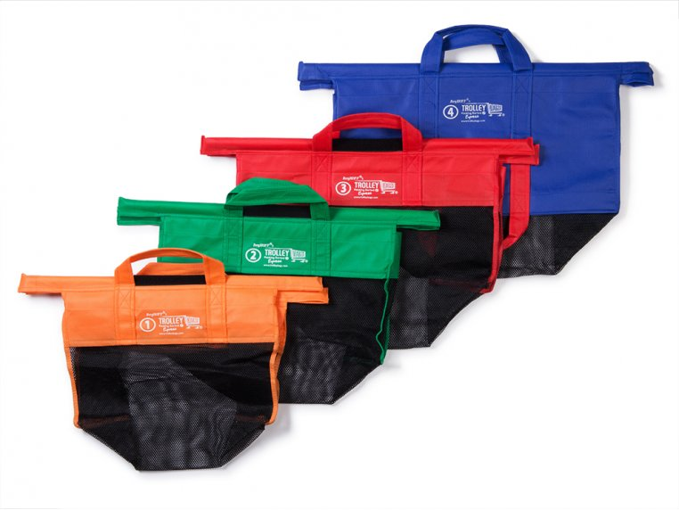 Reusable Shopping Cart Bags by Trolley Bags - 6