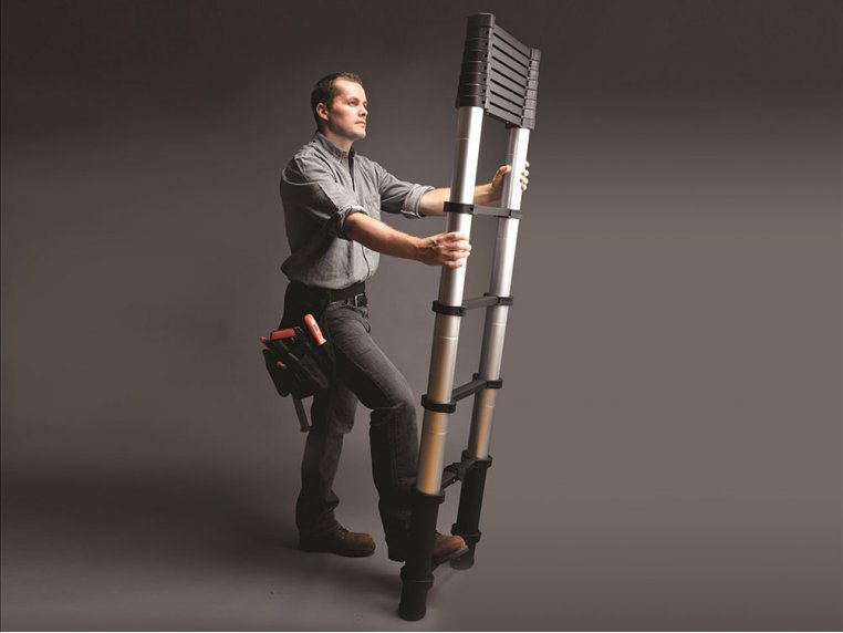 Retractable Telescoping Ladders - Contractor Series by Xtend + Climb - 1