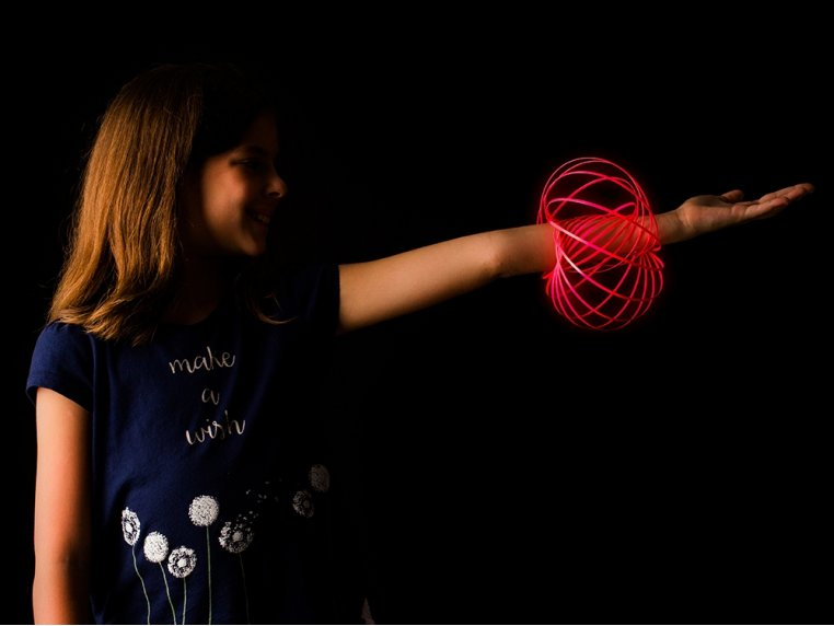Glow In The Dark Arm Spinner Toy by MOZI - 1