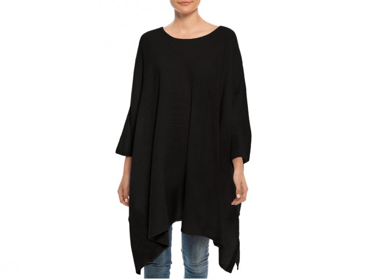 Cashmere Travel Poncho by My Bodhi - 5