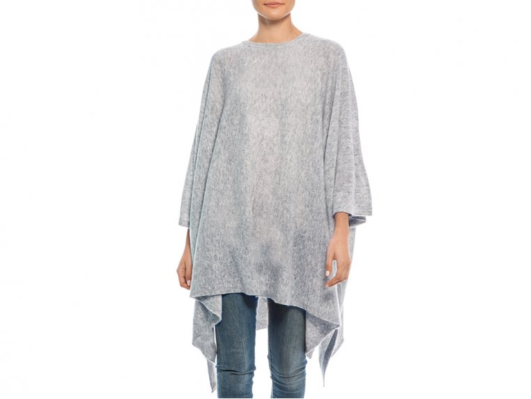 Cashmere Travel Poncho by My Bodhi - 6