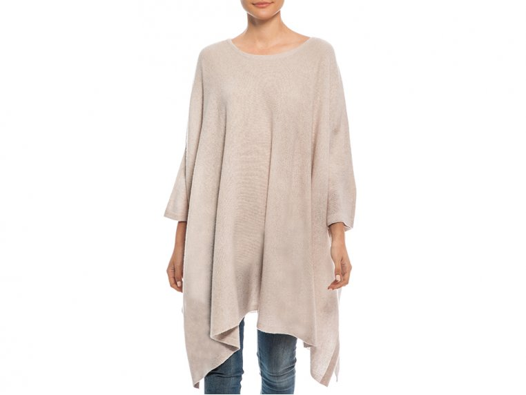 Cashmere Travel Poncho by My Bodhi - 7