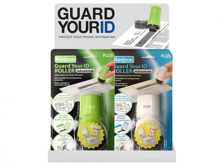 Advanced Roller Filled Display by Guard Your ID - 5