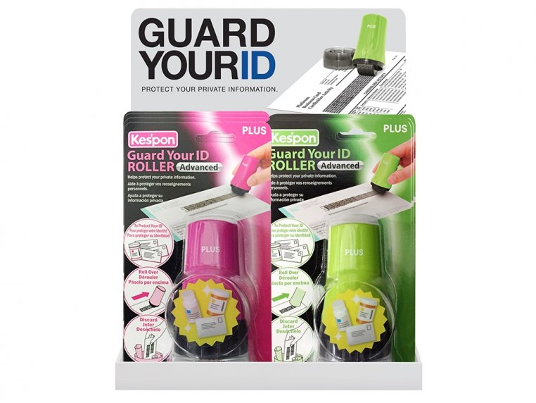 Advanced Roller Filled Display by Guard Your ID - 7