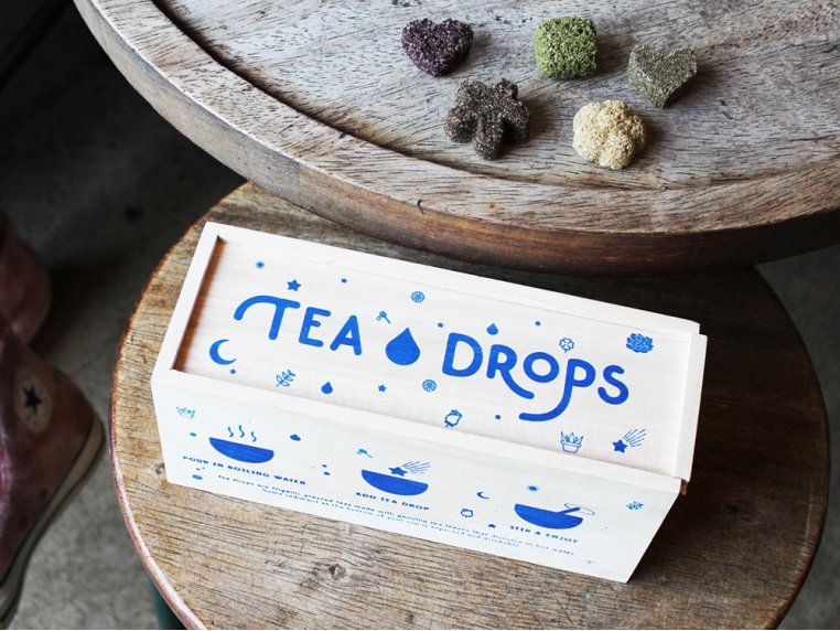 Organic Dissolvable Tea Assortment Box by Tea Drops - 1