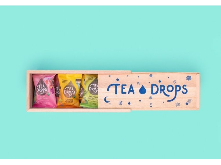 Organic Dissolvable Tea Assortment Box by Tea Drops - 6