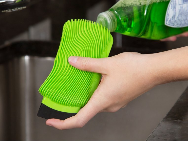 Silicone Dish Scrubber by WaveSponge - 2