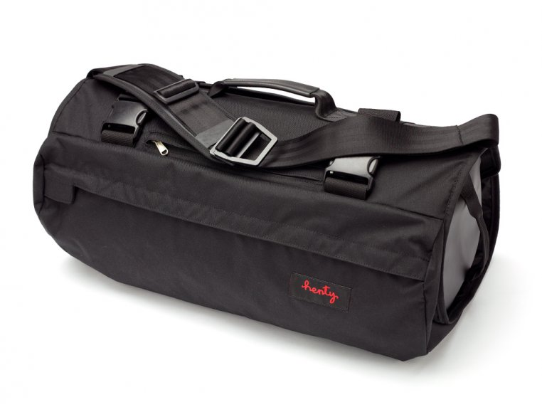 Roll-Up Suit & Garment Messenger Bag by Henty - 4