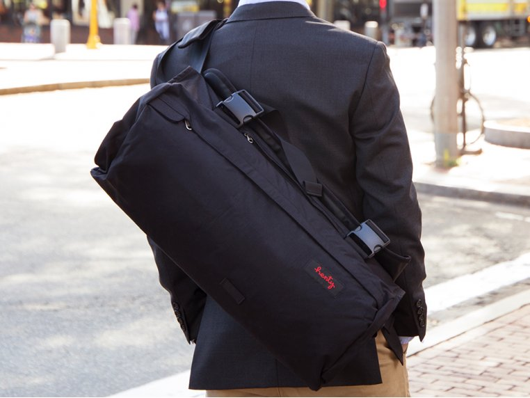 Roll-Up Suit & Garment Messenger Bag by Henty - 1