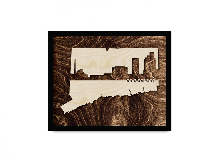 Framed Cityscape State Art by Grainwell - 28