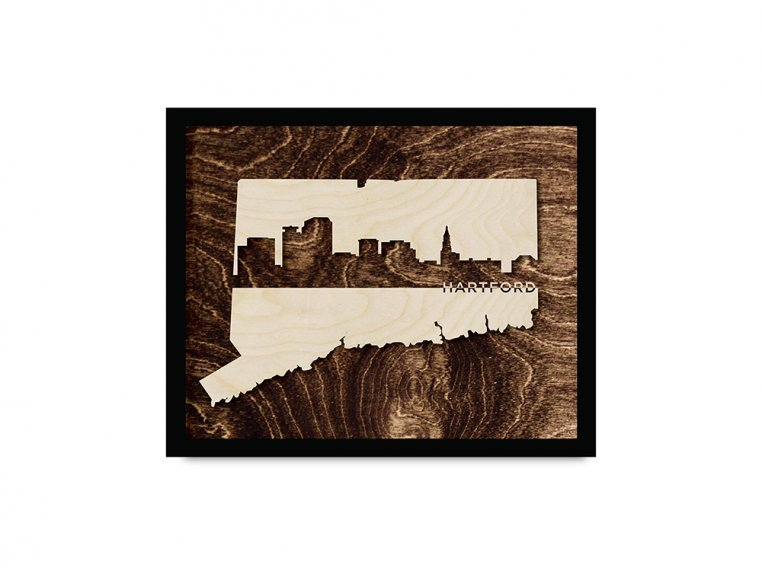 Framed Cityscape State Art by Grainwell - 32