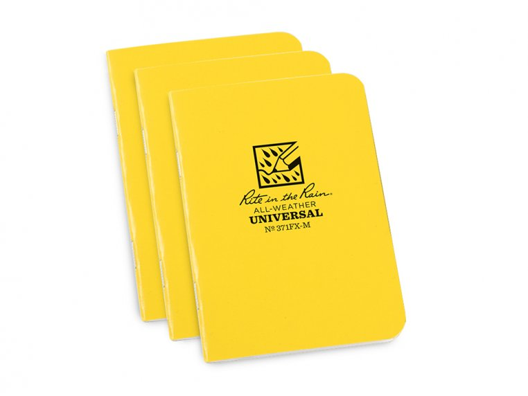 All-Weather Pocket Notebooks - Set of 3 by Rite in the Rain - 5