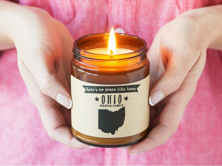 State Scented Candles by No Place Like Home Candles - 2