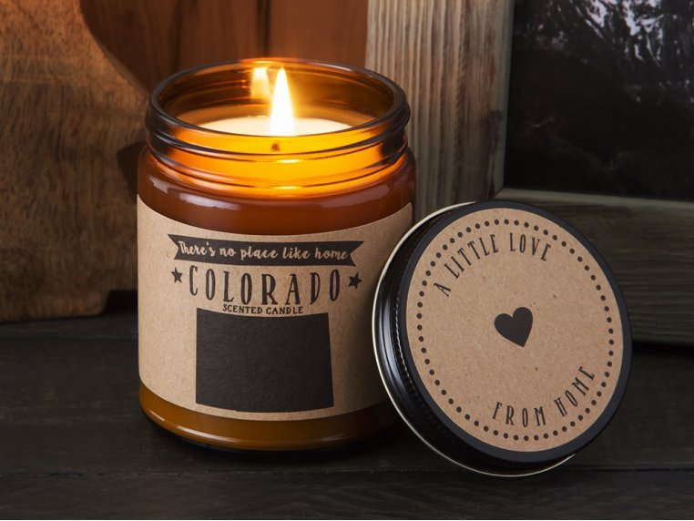 State Scented Candles by No Place Like Home Candles - 3