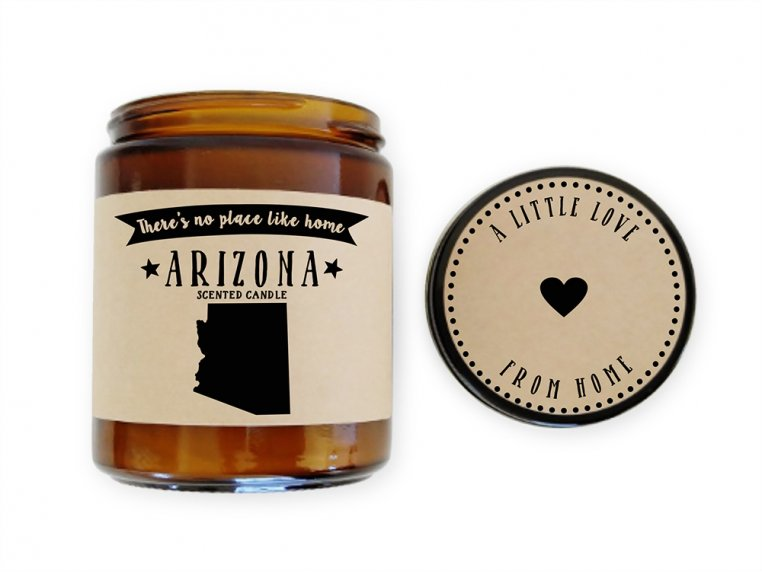 State Scented Candles by No Place Like Home Candles - 8