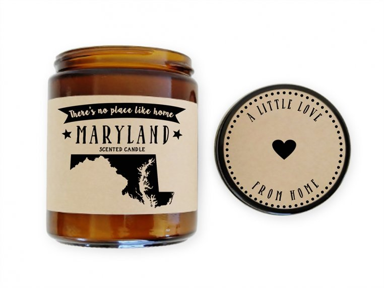 State Scented Candles by No Place Like Home Candles - 25