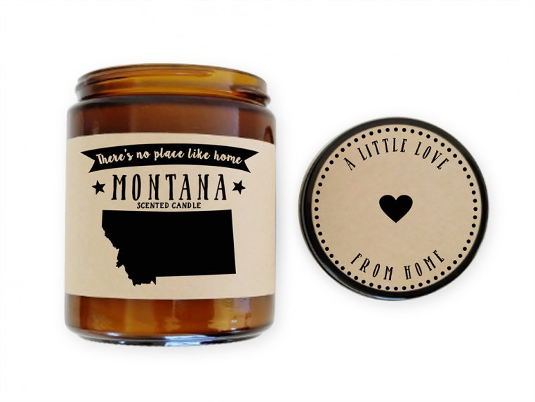 State Scented Candles by No Place Like Home Candles - 31