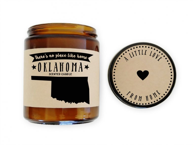 State Scented Candles by No Place Like Home Candles - 41