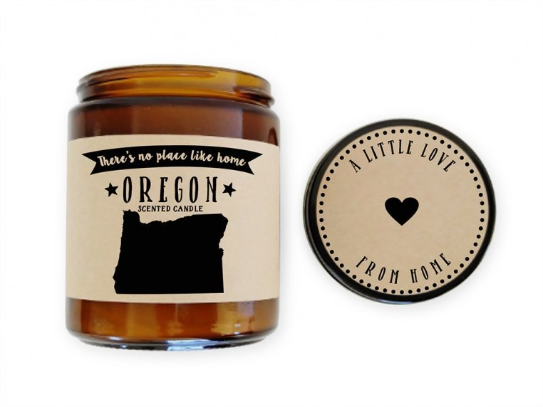 State Scented Candles by No Place Like Home Candles - 42