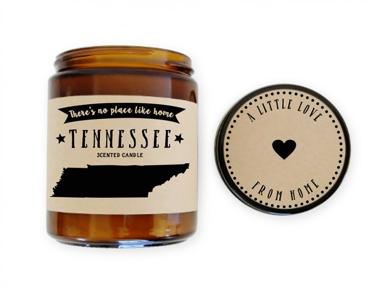State Scented Candles by No Place Like Home Candles - 47