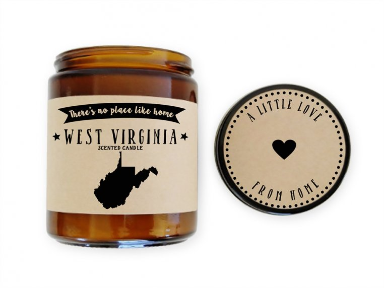 State Scented Candles by No Place Like Home Candles - 55