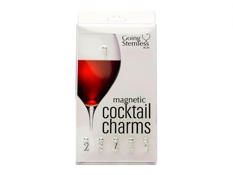 Magnetic Drinkware Charms by Going Stemless - 4
