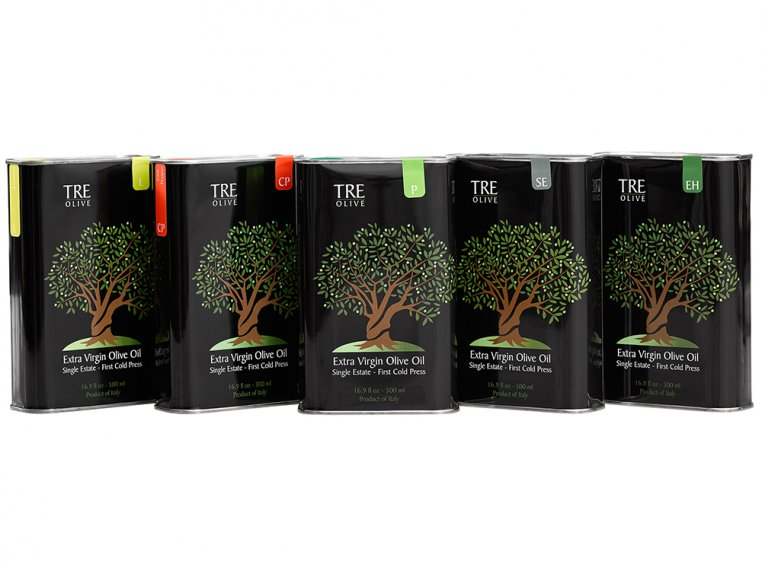 Olive Oil Gift Box - Set of 5 by TRE Olive - 4