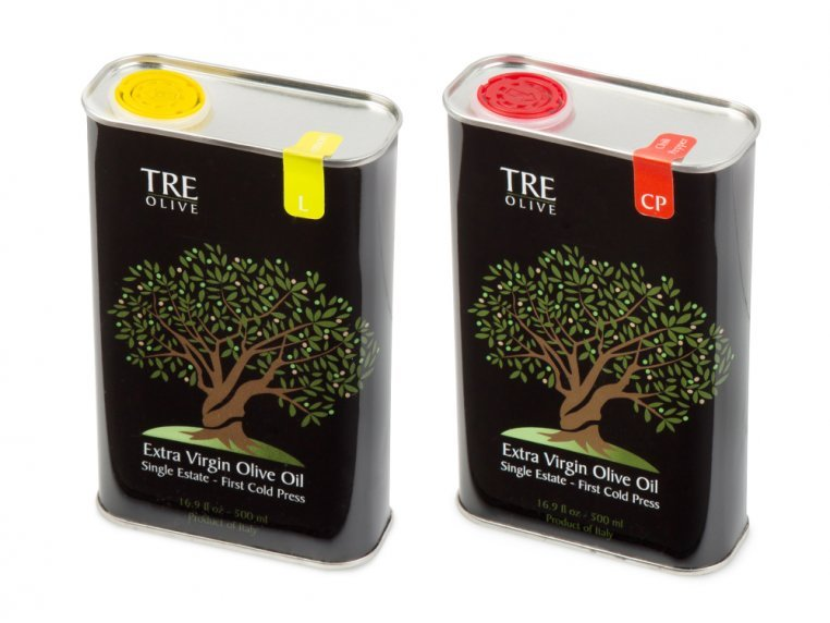 Olive Oil Gift Box - Set of 2 by TRE Olive - 5