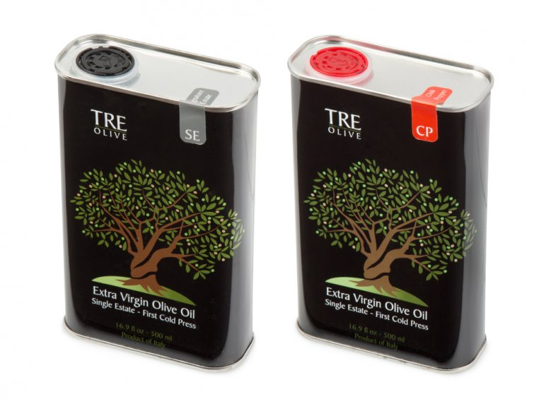 Olive Oil Gift Box - Set of 2 by TRE Olive - 6