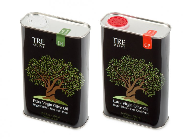 Olive Oil Gift Box - Set of 2 by TRE Olive - 7