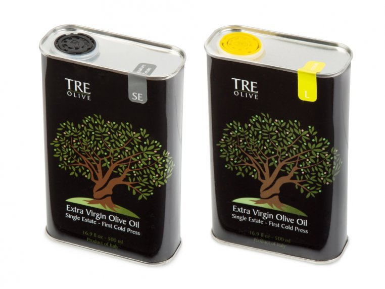 Olive Oil Gift Box - Set of 2 by TRE Olive - 9