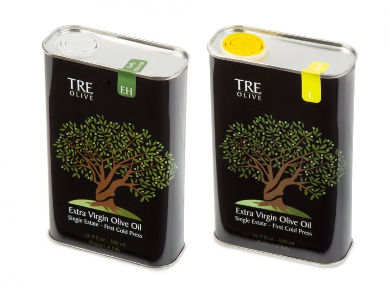 Olive Oil Gift Box - Set of 2 by TRE Olive - 10