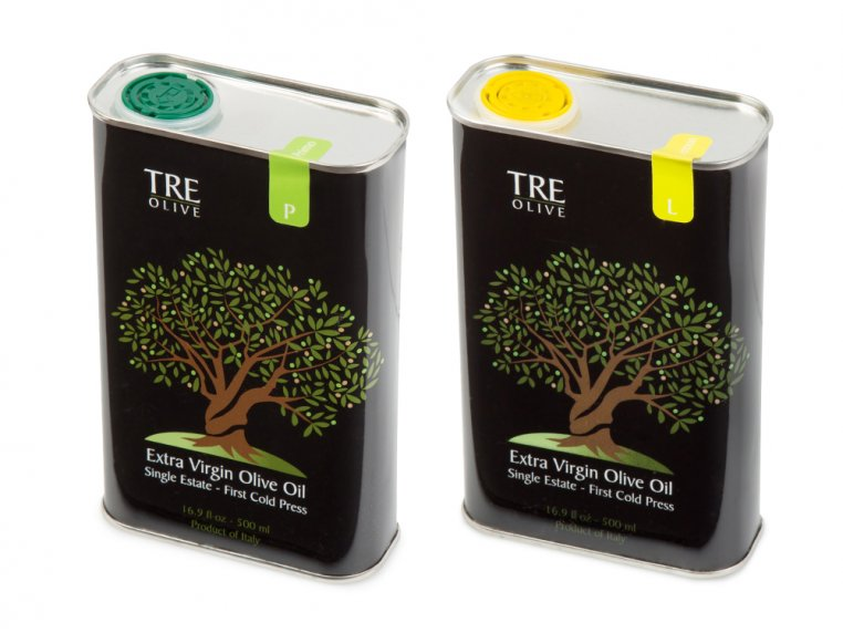 Olive Oil Gift Box - Set of 2 by TRE Olive - 11