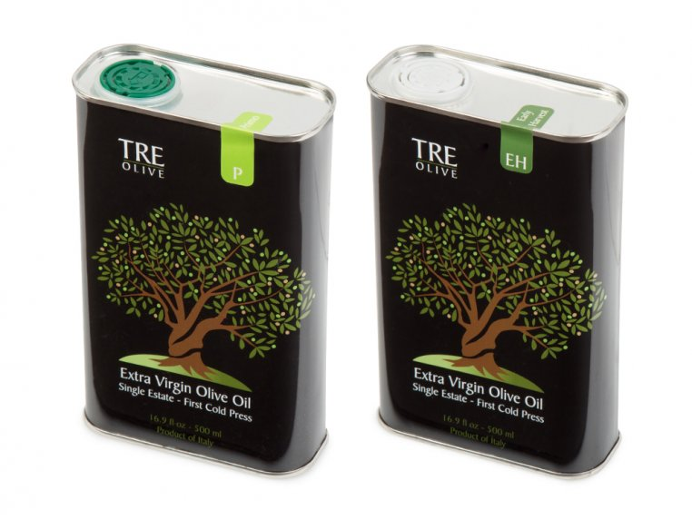 Olive Oil Gift Box - Set of 2 by TRE Olive - 14
