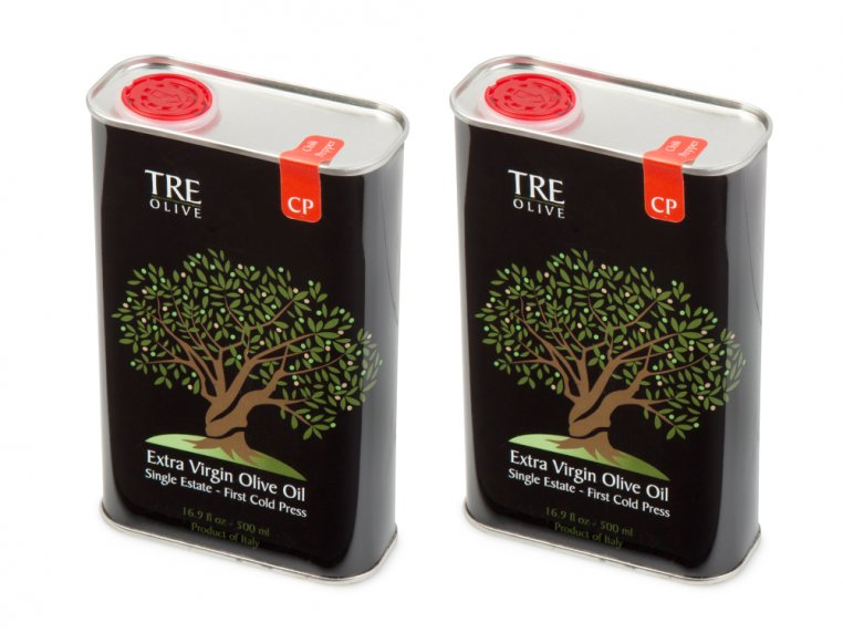 Olive Oil Gift Box - Set of 2 by TRE Olive - 15