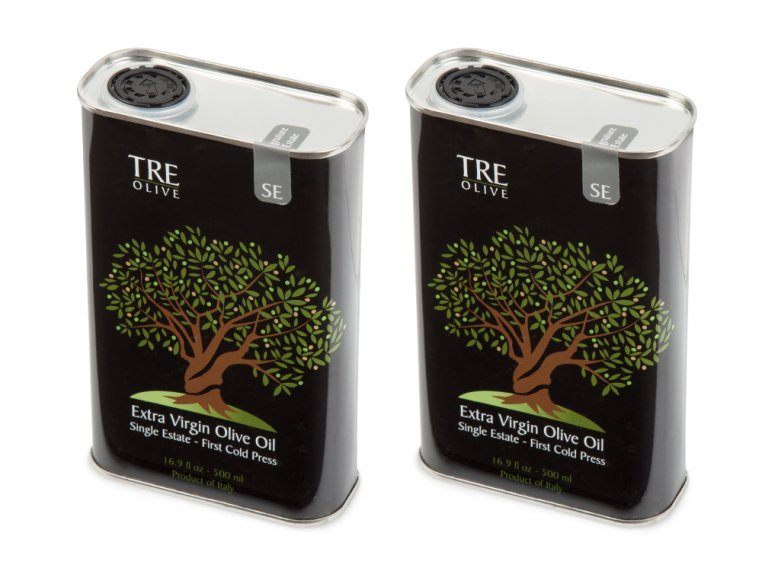 Olive Oil Gift Box - Set of 2 by TRE Olive - 16