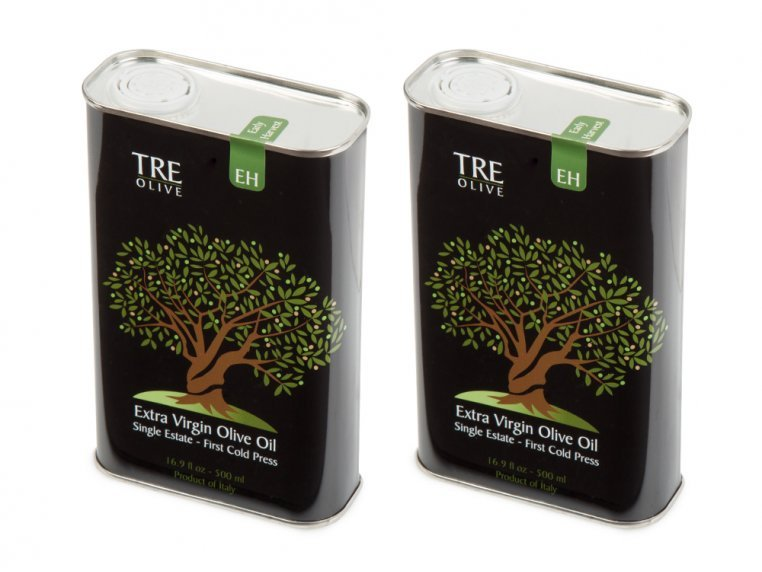 Olive Oil Gift Box - Set of 2 by TRE Olive - 18