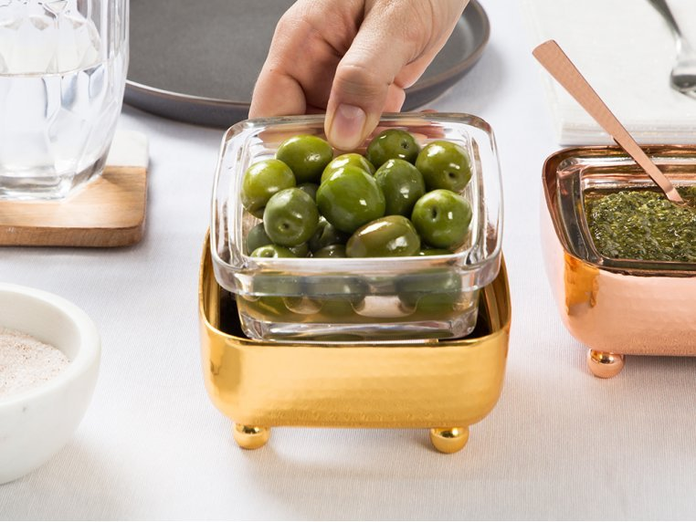 Square Deli Container Holder by The Decorizer - 2