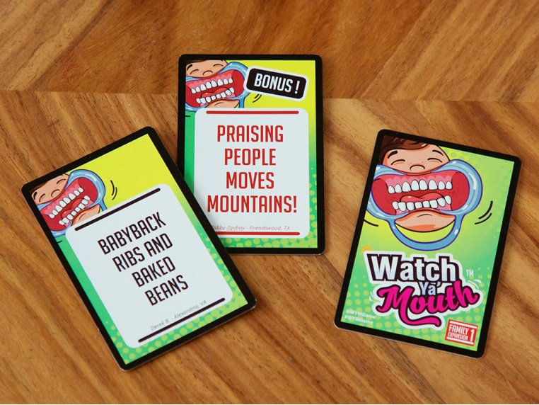 Mouth Guard Game Expansion Packs by Watch Ya' Mouth - 3