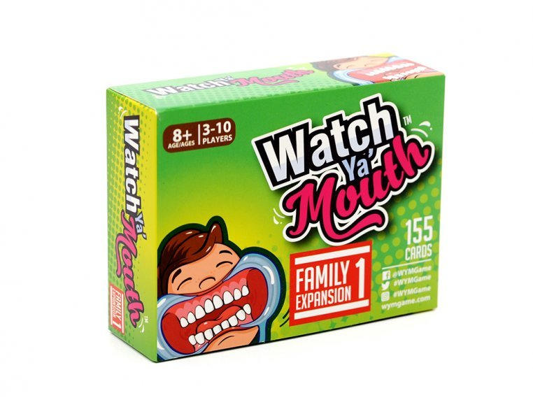 Mouth Guard Game Expansion Packs by Watch Ya' Mouth - 6