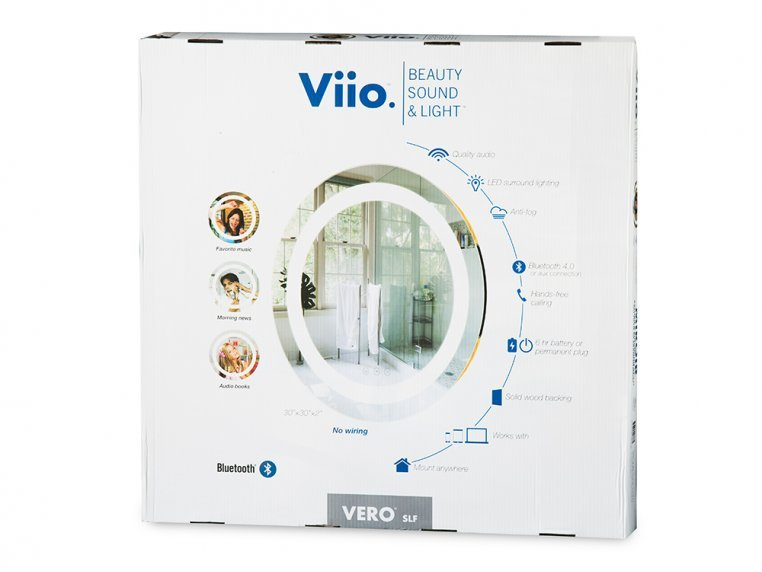 Bluetooth Connected Illuminated Smart Mirror by ViioMirrors - 7