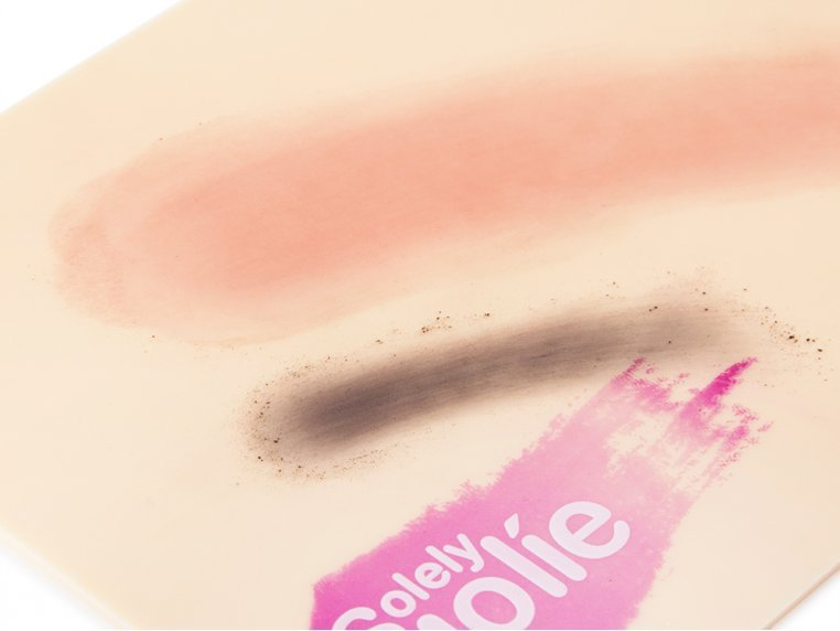 Waterless Makeup Brush Cleaning Pad by Solely Jolie - 5