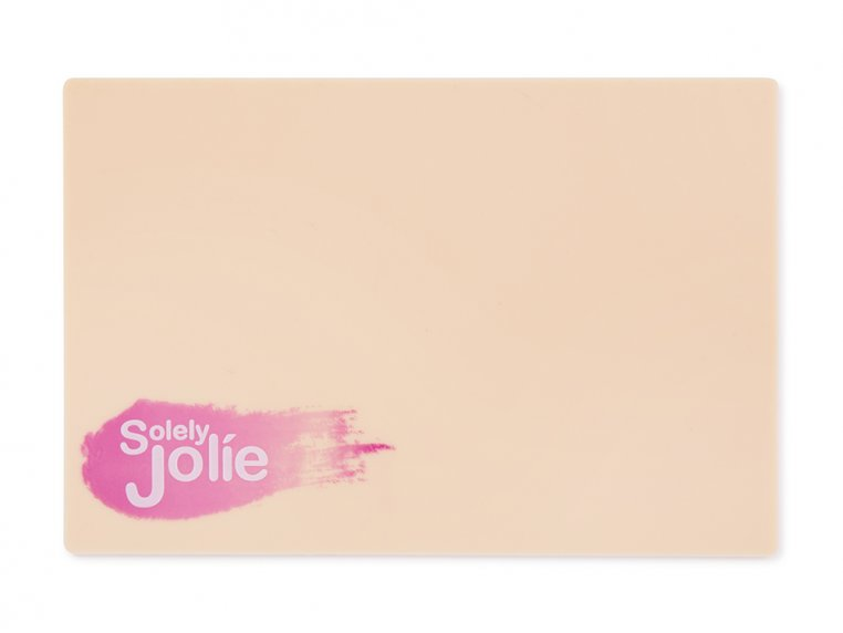 Waterless Makeup Brush Cleaning Pad by Solely Jolie - 6